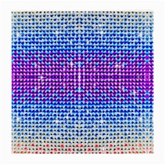 Rainbow of Colors, Bling and Glitter Single-sided Large Glasses Cleaning Cloth by artattack4all
