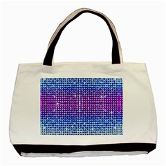 Rainbow Of Colors, Bling And Glitter Twin Sided Black Tote Bag by artattack4all