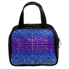 Rainbow Of Colors, Bling And Glitter Twin Sided Satched Handbag