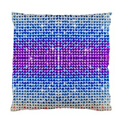 Rainbow Of Colors, Bling And Glitter Single Sided Cushion Case