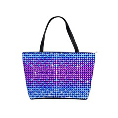 Rainbow Of Colors, Bling And Glitter Large Shoulder Bag by artattack4all