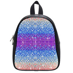 Rainbow Of Colors, Bling And Glitter Small School Backpack by artattack4all