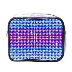 Rainbow Of Colors, Bling And Glitter Single Sided Cosmetic Case