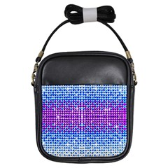 Rainbow Of Colors, Bling And Glitter Kids  Sling Bag by artattack4all