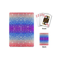 Rainbow Of Colors, Bling And Glitter Playing Cards (mini) by artattack4all