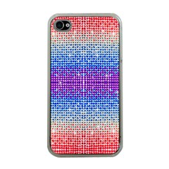 Rainbow Of Colors, Bling And Glitter Apple Iphone 4 Case (clear) by artattack4all