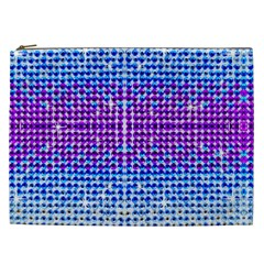 Rainbow Of Colors, Bling And Glitter Cosmetic Bag (xxl) by artattack4all