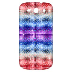 Rainbow Of Colors, Bling And Glitter Samsung Galaxy S3 S Iii Classic Hardshell Back Case by artattack4all