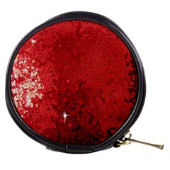Sequin and Glitter Red Bling Mini Makeup Case