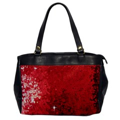 Sequin And Glitter Red Bling Single Sided Oversized Handbag by artattack4all