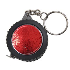Sequin and Glitter Red Bling Measuring Tape