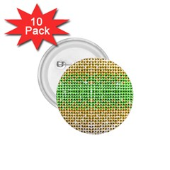 Diamond Cluster Color Bling 10 Pack Small Button (round) by artattack4all