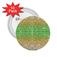 Diamond Cluster Color Bling 10 Pack Regular Button (round) by artattack4all