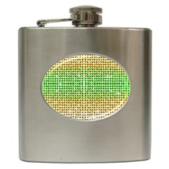 Diamond Cluster Color Bling Hip Flask by artattack4all