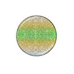 Diamond Cluster Color Bling 10 Pack Golf Ball Marker (for Hat Clip) by artattack4all