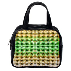 Diamond Cluster Color Bling Single Sided Satchel Handbag by artattack4all