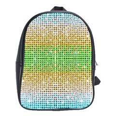 Diamond Cluster Color Bling Large School Backpack by artattack4all