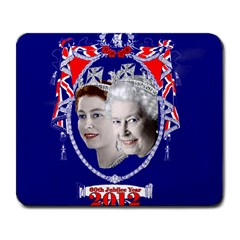 Queen Elizabeth 2012 Jubilee Year Large Mouse Pad (rectangle)