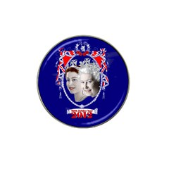 Queen Elizabeth 2012 Jubilee Year 10 Pack Golf Ball Marker (for Hat Clip)