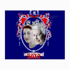 Queen Elizabeth 2012 Jubilee Year Twin Sided Glasses Cleaning Cloth by artattack4all