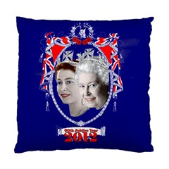 Queen Elizabeth 2012 Jubilee Year Single Sided Cushion Case by artattack4all