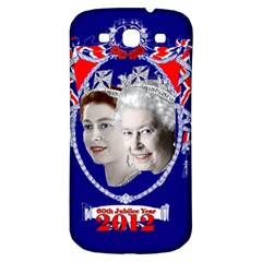 Queen Elizabeth 2012 Jubilee Year Samsung Galaxy S3 S Iii Classic Hardshell Back Case by artattack4all