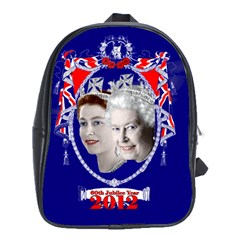Queen Elizabeth 2012 Jubilee Year School Bag (xl)