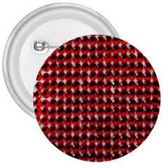 Deep Red Sparkle Bling Large Button (round) by artattack4all