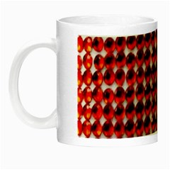 Deep Red Sparkle Bling Glow In The Dark Mug by artattack4all