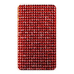 Deep Red Sparkle Bling Card Reader (rectangle) by artattack4all