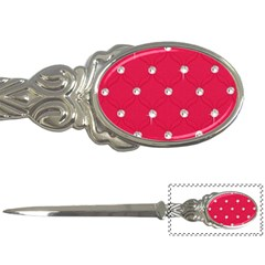 Red Diamond Bling  Paper Knife by artattack4all