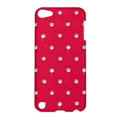 Red Diamond Bling  Apple Ipod Touch 5 Hardshell Case by artattack4all