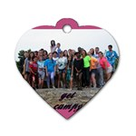 pleas pleas - Dog Tag Heart (One Side)