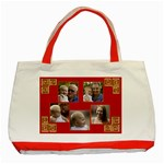 Red and Gold Tote Bag - Classic Tote Bag (Red)