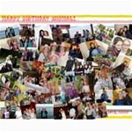 michals bday present - Collage 8  x 10
