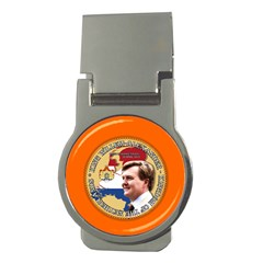 King Willem Alexander Money Clip (round) by artattack4all