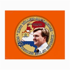 King Willem Alexander Twin Sided Glasses Cleaning Cloth by artattack4all
