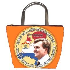 King Willem Alexander Bucket Handbag