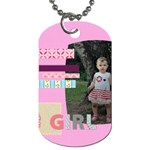 flower kids - Dog Tag (One Side)