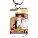 dad - Dog Tag (One Side)