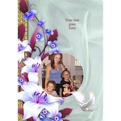 Basket Easter Card 3d Circle By Deborah   Circle Bottom 3d Greeting Card (7x5)   D8bnh6ejdhds   Www Artscow Com Inside