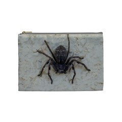 Huntsman  Spider ,arachnid, Cosmetic Bag (Medium) by TimeBomb