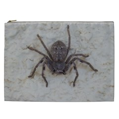 Huntsman  Spider ,arachnid, Cosmetic Bag (XXL) by TimeBomb