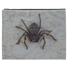 Huntsman  Spider ,arachnid, Cosmetic Bag (XXXL) by TimeBomb
