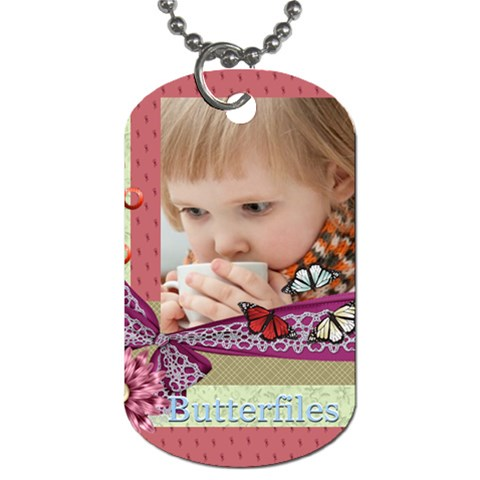 Kids By Jacob   Dog Tag (one Side)   Bc9jnxurbmpe   Www Artscow Com Front