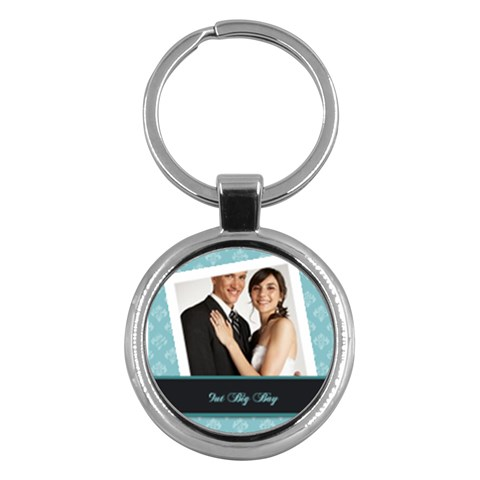 Wedding By Paula Green   Key Chain (round)   Lsvq4r2d691f   Www Artscow Com Front