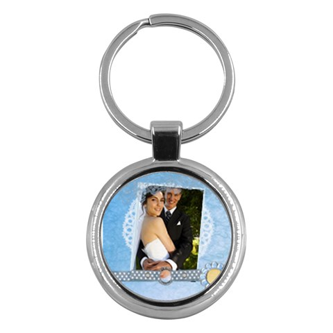 Wedding By Paula Green   Key Chain (round)   V0ernabeh4iq   Www Artscow Com Front