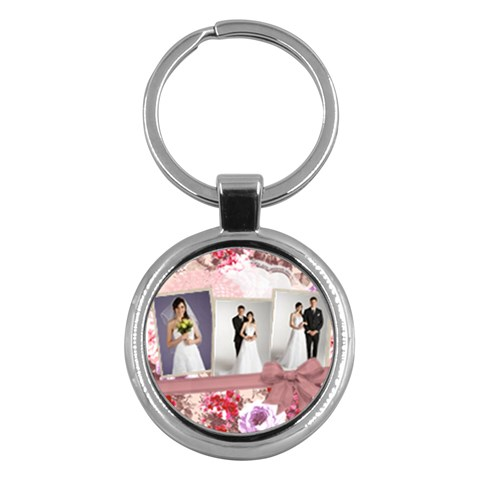 Wedding By Paula Green   Key Chain (round)   W8vvuvab29pt   Www Artscow Com Front