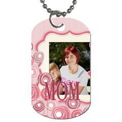 Mothers Day By Jacob   Dog Tag (two Sides)   Qfrry9hobjhx   Www Artscow Com Back
