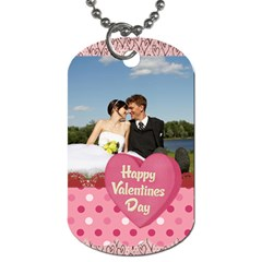 Love,memory, Happy, Fun  By Jacob   Dog Tag (two Sides)   5c0dgkhaohjd   Www Artscow Com Front